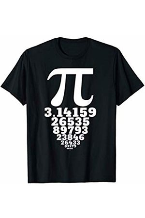 Miftees Pi Symbol and numbers T-Shirt