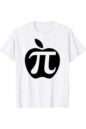 Miftees Apple Pi funny Math Teacher Pi T-Shirt