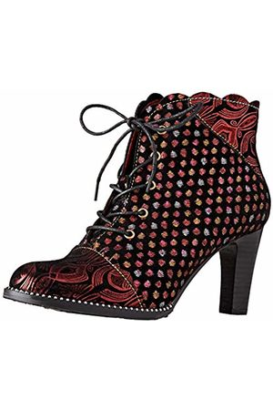 LAURA VITA Women's Alcbaneo 1379 Ankle Boots, (Rouge)