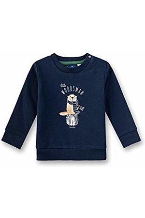Sanetta Baby Boys Sweatshirt, (Shadow 582)