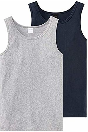 Schiesser Boy's Long Life Cotton 2pack Tanks Vest