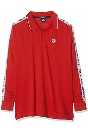 North Sails Men's Polo L/s W/Insert Kniited Tank Top, Pompeian 241.0
