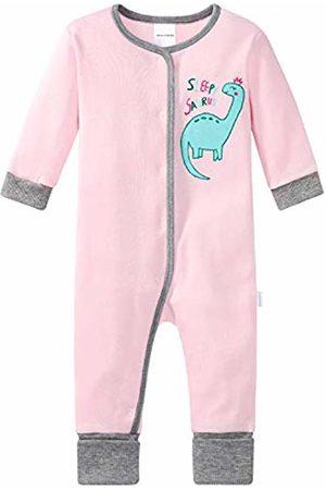 Schiesser Girls' Baby Anzug mit Vario Fuß Pyjama Sets
