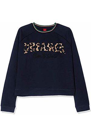 s.Oliver Girls' 66.908.41.2712 Sweatshirt, (Dark 5952)