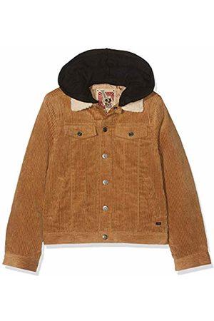IKKS Boy's Veste Capuche Amovible Camel Waterproof Jacket, 62