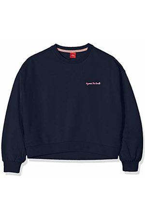 s.Oliver Girl's 66.908.41.2751 Sweatshirt, (Dark 5952)