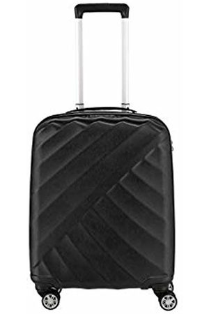 Titan Shooting Star by ®: Robust Hard Shell Trolleys in Cool Metallic Look in 4 Trendy Colours Suitcase 55 cm