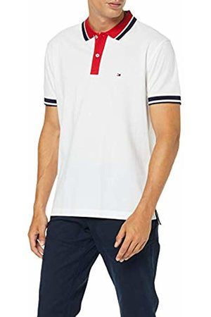 Tommy Hilfiger Men's Contrast Placket Regular Polo Shirt