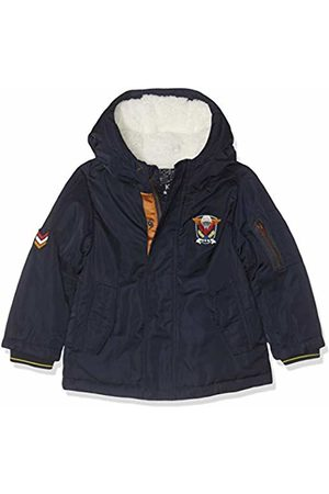 IKKS Baby Boys' Parka Capuche Marine Raincoat