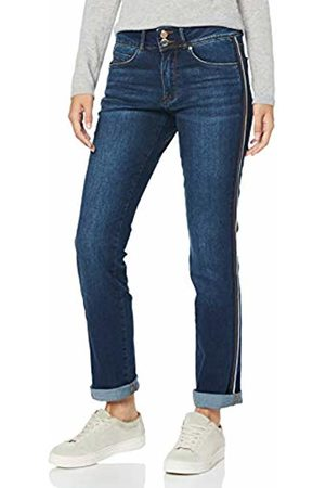 s.Oliver Women's 11.908.71.5554 Straight Jeans, Denim 59z6