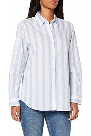 Seidensticker Women's Hemdbluse Langarm Modern fit Streifen-100% Baumwolle Blouse