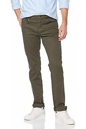Trussardi Jeans Men's 380 Icon Heavy Gabardine Stret Straight Jeans