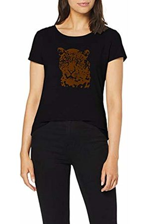 Comma, Women's 81.908.32.3411 T-Shirt, Placed Animal 99d4