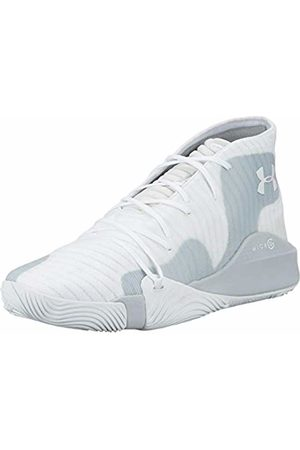 Under Armour Men's Spawn Mid Basketball Shoes, Mod Gray/ 102