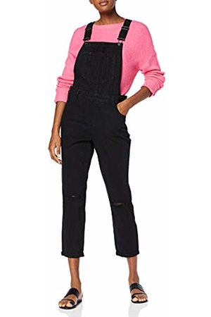 New Look Women's Relaxed Bust Knee Dungarees, 1