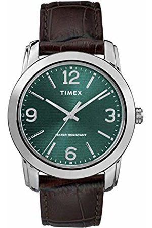 Timex Mens Analogue Classic Quartz Watch with Leather Strap TW2R86900
