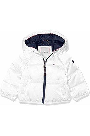 Tommy Hilfiger Baby Girls' Recycled Short Puffer Jacket, (Bright 123)