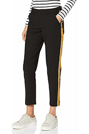 Scotch&Soda Maison Women's Tailored Stetch Pants with Contrast Side Panel Trouser