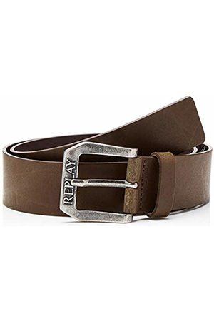Replay Men's Am2417.000.a3001 Belt, Dark Wood 110)