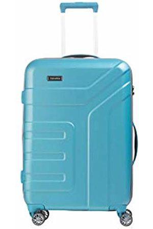 "Elite Models' Fashion Valise trolley ""Vector"" avec 4 roues turquoise Suitcase, 70 cm"