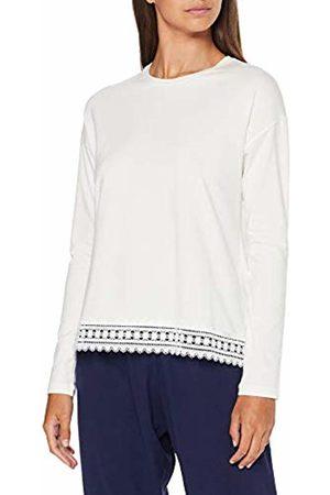 Skiny Women's Sleep Mix & Match Shirt Langarm Pyjama Top, Off- Off- (Ivory 7608)