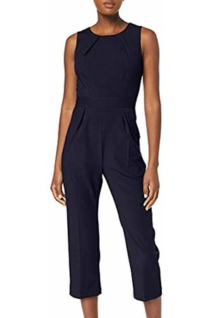 Closet Women's Sleeveless Jumpsuit, Navy