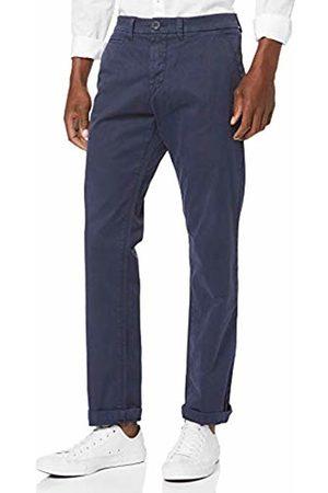 North Sails Men's Chino W/Logo Regular Trouser, (Navy 802.0)