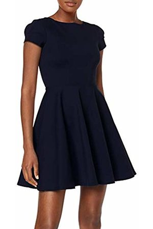 Closet Women's Short Sleeve Skater Dress Party, Navy