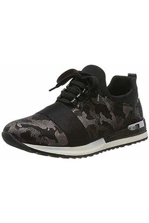 Remonte Women's R2505 Low-Top Sneakers, Antik Schwarz 02