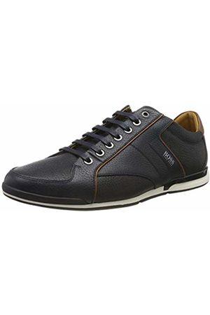 HUGO BOSS Men's Saturn_Lowp_tbpf1 Low-Top Sneakers, (Dark 401)
