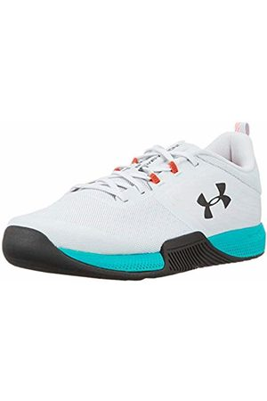 Under Armour Men's TriBase Thrive Fitness Shoes, (Halo Gray/Teal Rush/ 105)