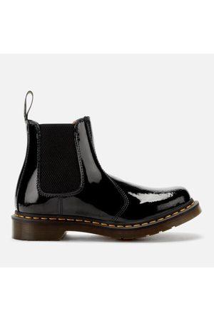 Women Boots - Dr. Martens Women's 2976 Patent Lamper Chelsea Boots