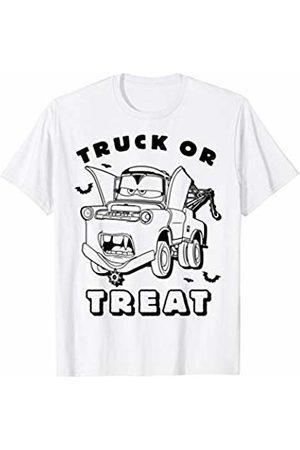 Disney Pixar Cars Mater Truck Or Treat Poster T-Shirt