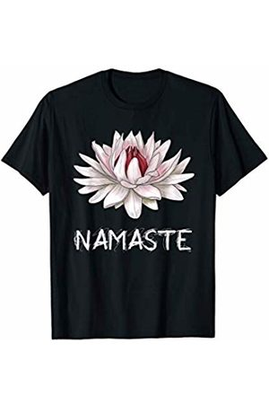 Free Spirit Flowers Namaste Lotus Spiritual Water Lily Design for Yoga