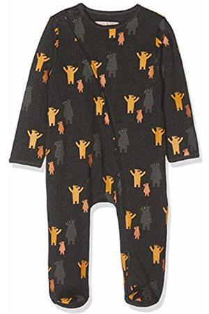 Lucy & Sam Baby Boys' Where's Bear Zip Babygrow Sleepsuit