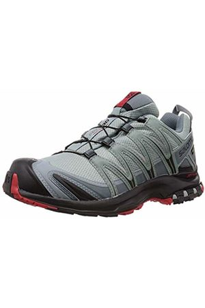 Salomon Men's Trail Running Shoes, XA Pro 3D GTX, Lead/Black/Barbados Cherry