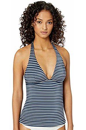 Amazon Tankini Swimsuit Top Navy Stripe