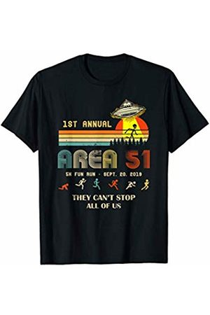 UFO Area Tshirt - Gift Tee 1ST Annual - Area 51 5k Fun Run - SEPT. 20