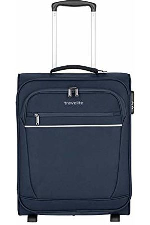 "Elite Models' Fashion Onboard""Cabin"" Luggage by - Practical 2-Wheel suitcases with 2 Spacious Front Pockets"