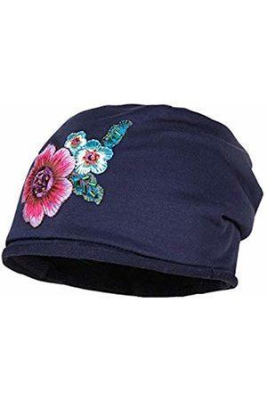 maximo Girl's Beanie Mit Großer Blume Hat