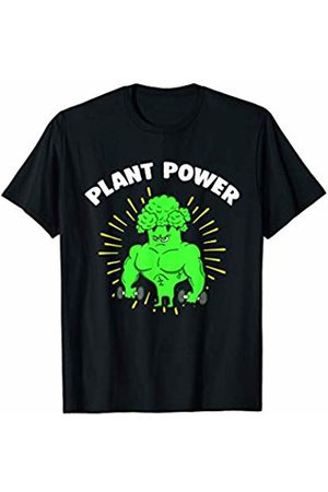 Vegan Vegetarian Apparel Vegan Weightlifter Broccoli Workout Fitness Vegetarian T-Shirt