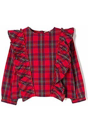 ZIPPY Girl's Blusa Con Volante Blouse