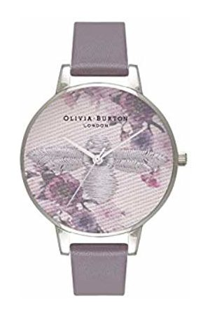 Olivia Burton Womens Analogue Japanese Quartz Watch with Leather Strap OB16EM05