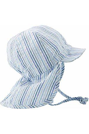 Döll Baby Boys' Bindemütze Mit Schirm Und Nackenschutz Sun Hat, Heather| 3090