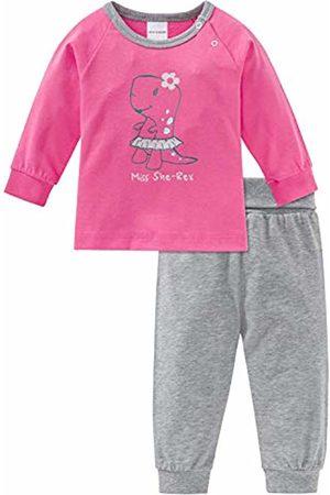 Schiesser Girls' Baby Anzug Lang 2-teilig Pyjama Sets
