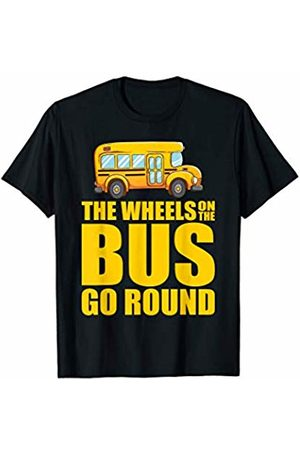 That's Life Brand THE WHEELS ON THE BUS GO ROUND T SHIRT