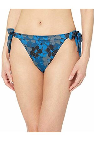 Amazon Side Tie Bikini Bottom Floral