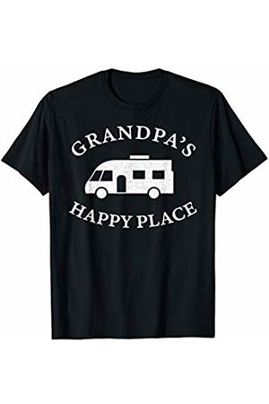 Motorhome Owner Gifts Mens Grandpa's Happy Place (is his Motorhome) Funny Gift Idea