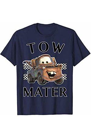 Disney Pixar Cars Tow Mater Finish Line Poster T-Shirt