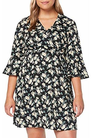 Simply Be Women's Ladies Wrap Dress ( Floral 001)